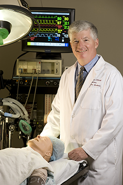 Michael Fallacaro, D.N.S., served as professor and chairman of the Department of Nurse Anesthesia in the VCU College of Health Professions for 20 years.