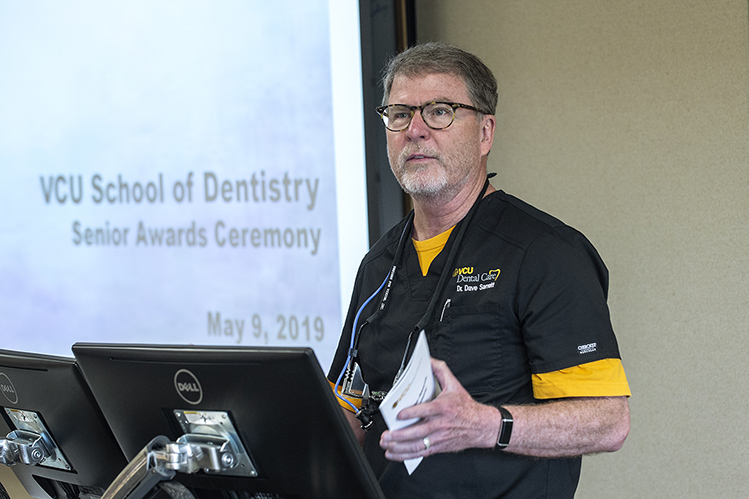 David Sarrett, D.M.D., has served the MCV Campus for more than 25 years as a faculty member and dean of the VCU School of Dentistry.