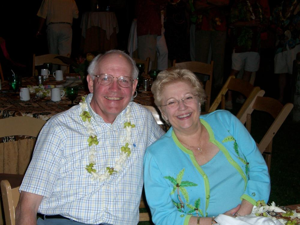 Bob and Deedle Holsten traveled as much as possible in the last years of Bob's battle with cancer.