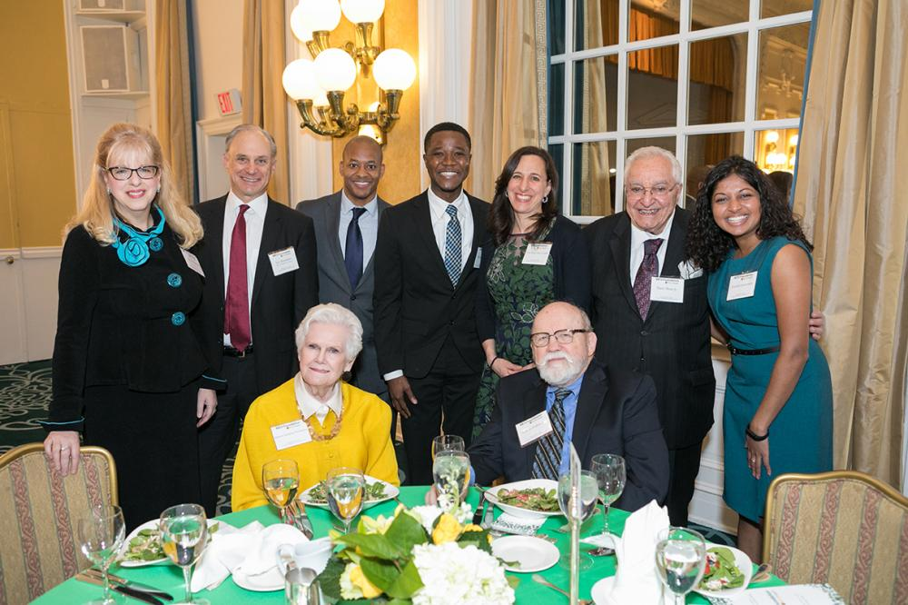 VCU Health faculty, staff students and benefactors at February's endowed scholarship event