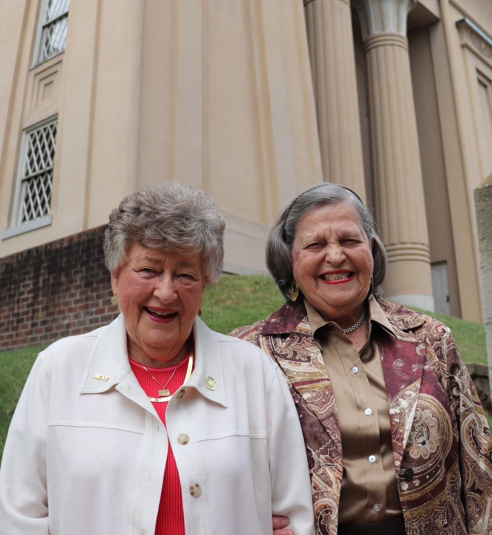Long-time friends and MCV Campus supporters Kathy Bobbitt, Ed.D. (left), and Bertha Rolfe, R.Ph. (right), have both established charitable gift annuities with our foundation. Since payment rates just went up for the first time in six years, we decided to catch up with Kathy and Bertha to ask about their experiences with this creative and impactful giving tool.