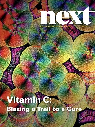 "NEXT magazine is the MCV Foundation's publication covering the incredible innovations in patient care, research and education occurring on the MCV Campus at VCU Health. In the inaugural issue, VCU Health researchers, led by Alpha A. ""Berry"" Fowler III, M.D., find intravenous Vitamin C treatment effective in treating and curing sepsis — the leading cause of death in U.S. hospitals. The treatment could also be used to treat acute lung injury resulting from other diseases, such as the flu."
