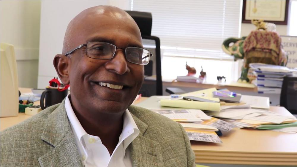 Vigneshwar Kasirajan, M.D., Stuart McGuire Professor and chair in the VCU Department of Surgery, speaks with us about the importance of making human connections with patients.