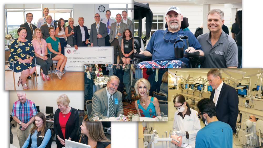 photos of donors from the Chronicle of Giving magazine