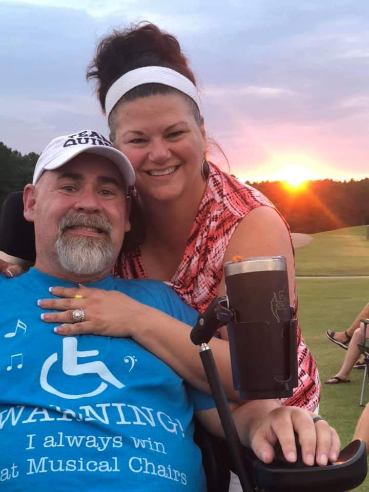 Bobby and Michele Quinn have been fundraising and organizing to support ALS patients since Bobby was diagnosed with the disease in 2017