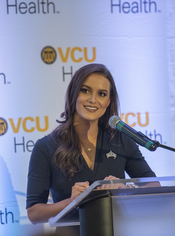 Camille Schrier, Pharm.D. student and 2020 Miss America