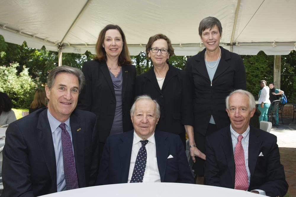 Leaders of the MCV Campus and MCV Foundation board photo