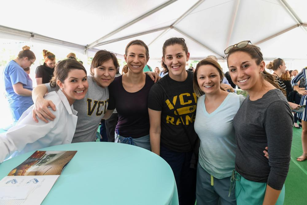 VCU Allied Health Professions students