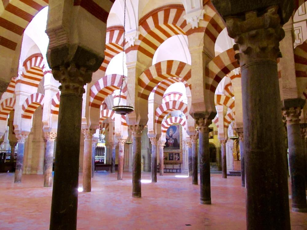 Mezquita Cathedral de Cordoba - Mosque of Cordoba, Cordoba's most famous landmark dating back to the late 8th Century. Photo: Amy Heng