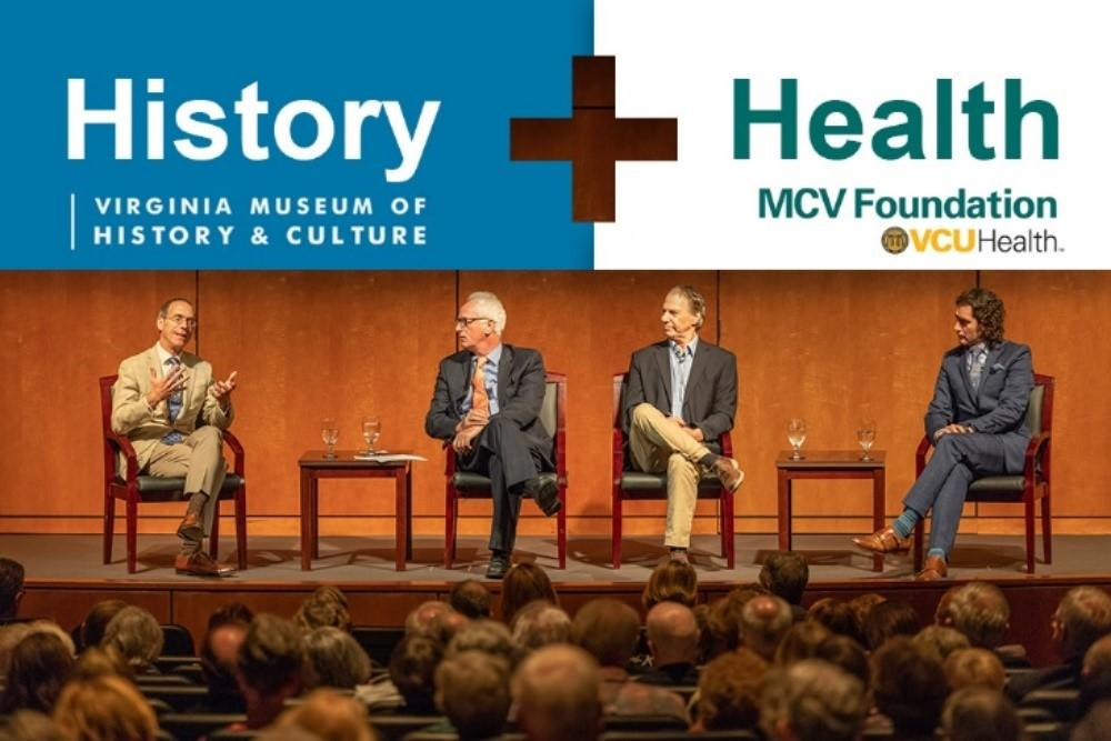 Panel at History + Health Event