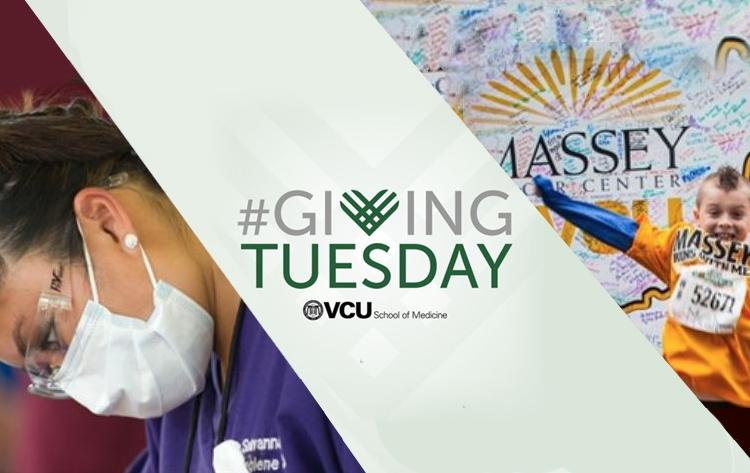 Giving Tuesday on the MCV Campus