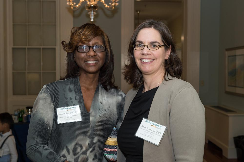 Dr. Vanessa Sheppard, Ph.D., and Dr. April Kimmel, Ph.D., of the VCU School of Medicine's Department of Health Behavior and Policy