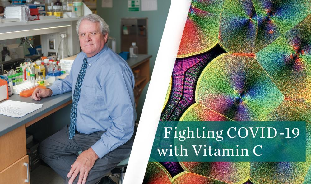 Berry Folwer will research how Vitamin C might be used to treat patients with COVID-19